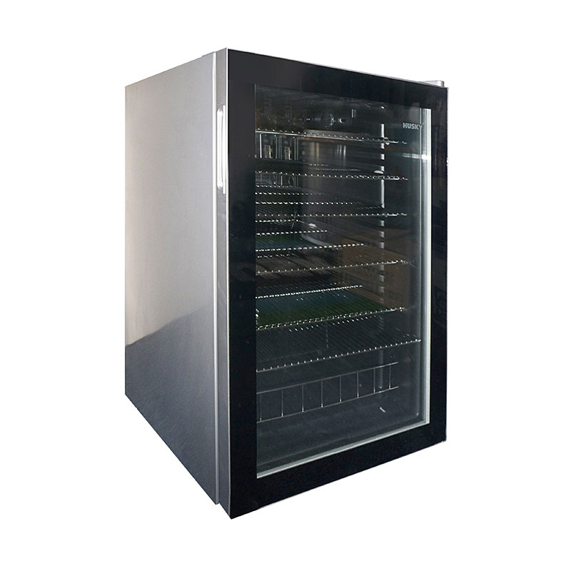 Husky Glass Door Bar Fridge (HUSCNSIL)